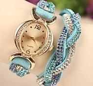 Women's Fashion Leather Japanese Quartz Watch(Assorted Colors)