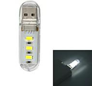usb 2.0 1s 70lm 3x5730led puissance mobile blanc USB Light