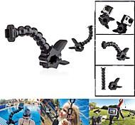 Fat Cat Extensive Flex Goose Neck Magic Extension Arm Jaws Mount for GoPro Hero 4 / 3+ / 3 / 2 / 1- Black