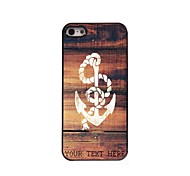 Personalized Phone Case - Anchor Design Metal Case for iPhone 5/5S