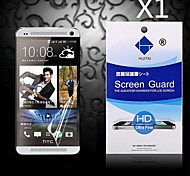 Protector de pantalla de alta definición con polvo absorbente para htc uno / M7 (PC 1)