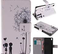 Full Body Wallet / Card Holder / with Stand / Flip Dandelion PU Leather Hard Case Cover For Sony Other