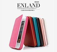 promotion huit yl étuis en cuir série de téléphone pour iphone 5 (couleurs assorties)