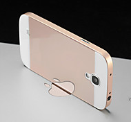 LUPHIE® Metal Bumper Frame and Acrylic Plastic Back Cover Cases For Samsung Galaxy S4/I9500 (Assorted Colors)