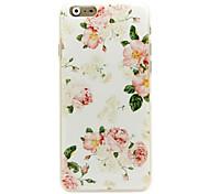 caso difícil flor padrão padrão para iphone 6