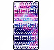National Flavor Pattern PC Hard Case for Sony Xperia T3