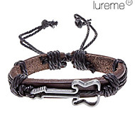 Lureme®Unisex Violin Fabric Leather Bracelet(Random Color) Christmas Gifts