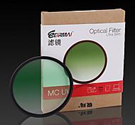 52mm erimai filtro uv mc para nikond3200 d5100 18-55