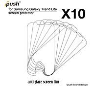 protetor de alta transparência fosco lcd de tela para Samsung Lite tendência galáxia s7390 (10 peças)