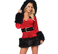 Miss Santa Velvet Women's Christmas Costue