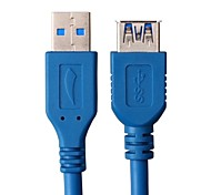 1.5M 4.92FT USB3.0 Male to Female Extension Cable