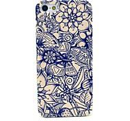 Schmetterlings- und Blumenmuster hard cover für iphone 5/5 s