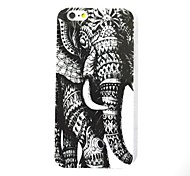 The Elephant PatternTPU Leather Back Cover Case for iPhone 6