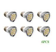 4W E26/E27 LED Spot Lampen 16 SMD 5730 280 lm Warmes Weiß / Kühles Weiß AC 220-240 / AC 110-130 V 6 Stück