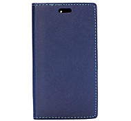 Fashion Wallet Style Magnetic Flip Stand Leather Case with Card Slot for BlackBerry Z3(Assorted Colors)