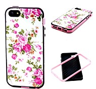 Flowers Pattern Back Case Cover for  iPhone5/5S