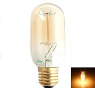 Zweihnder E26/E27 W 1 500 LM Warm White T Decorative LED Filament Lamps AC 220-240 V