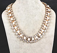 Exaggerated Fashion Glaring Shining Diamond Chain Diamond Necklace Exquisite Gift