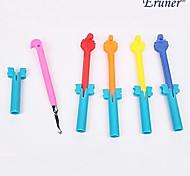 gancho de aleación eruner®rainbow estilo telar de color (color randow)