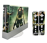Wii Console Sticker Skin Cover
