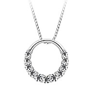 925 Sterling Silver Pendant Female Hanging Ornaments
