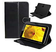 Flip Faux Leather Case with Stand for 10 Inch Universal Tablet PC