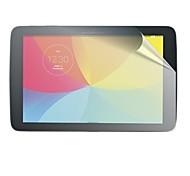 alto protector de pantalla transparente para Gpad lg g v700 almohadilla película protectora de la tableta de 10.1 pulgadas
