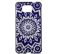 For Samsung Galaxy Case Pattern Case Back Cover Case Mandala PC Samsung Alpha