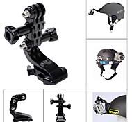 Accessori GoPro Montaggio Per Gopro Hero 2 / Gopro Hero 4 Universali / Auto / Motoslitta / Aviazione / moto / Bicicletta / Paracadutismo