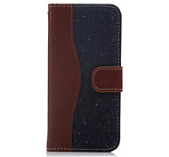 Cowboy Style Wallet Leather Case with Hand Strap for iPhone 6(Assorted Colors)
