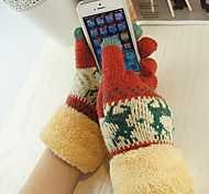 QianJiaTian®Woman Touchscreen Gloves for iPhone and Others (Assorted Color)