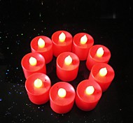 3 Star AG13 Button Batteries New Luminescent LED Candle Lamp (10 PCS)