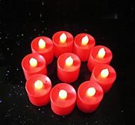 3 stelle batterie a bottone AG13 nuovo luminescente lampada principale della candela (10 pz)