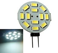 3W G4 Faretti LED 12 SMD 5630 250-270LM lm Bianco DC 12 V
