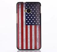 caso trasero duro americano pc modelo de la bandera para m7 htc