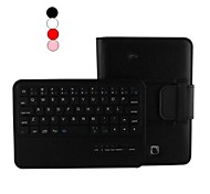"7 ""PU Leather Case Bluetooth Keyboard with Stand Holder for for Samsung Tab4 T230 (Assorted Colors)"