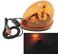 Carking™ 12V Car Vehicle Halogen Warning Light Flashing Strobe Light with Magnetic Base--Yellow