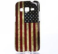 America Pattern TPU Soft Case for Samsung Galaxy Express 2