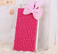 Plush Rabbit Ears Bowknot  TPU Back Cover Case for iPhone 6 (Assorted Colors)