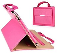 Solid Color PU Handbag  Full Body Leather Case with Stand for IPad 2/3/4(Assorted Colors)