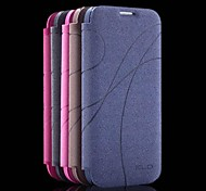 promotion quatre yu étuis en cuir série de téléphone pour s4 i9500 (couleurs assorties)