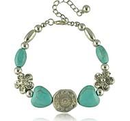 Bracelet européen et américain coeur de prune de perles de style bohème