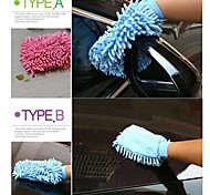 Multifunctional Cleaning Cloth Glove Shape(Random Color)