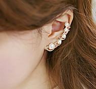 Perlen süße Ohrmanschetten (1 Stück)