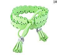 Lureme® SweetLovely  Double-Sided Plush Tassel Bracelet