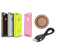 Minismile™ Qi Wireless Chargers Kit Q5M + Wireless Charger Receiver Case for iPhone 6 (Assorted Color)