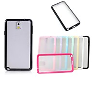 XUNDD Grind Arenaceous Candy Color Transparent  Non-Slip Case Hard Back Cover for Samsung Galaxy Note3 (Assorted Colors)