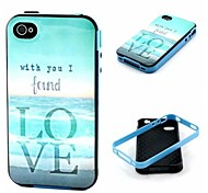 Love Pattern Back Case Cover for  iPhone4/4S