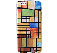 National Style Pattern TPU Soft Case for iPhone 6