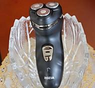 barbeador elétrico com ajustador de articulação de barbear para homens recarregáveis